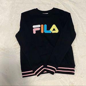 Neon Fila sweatshirt